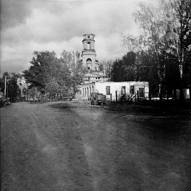 Церковь Николая Чудотворца, Холм
