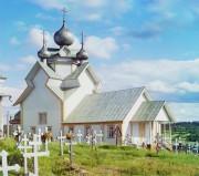 Церковь Успения Пресвятой Богородицы (старая) - Девятины - Вытегорский район - Вологодская область