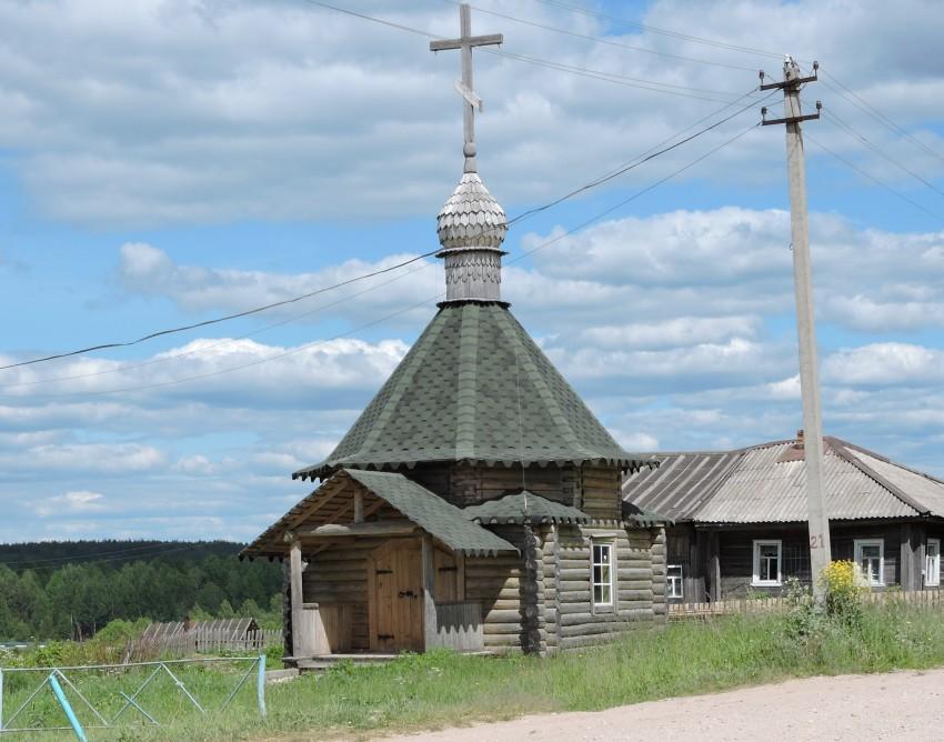 Часовня Николая Чудотворца, Усть-Река