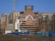Церковь Иоанна Богослова (строящаяся) - Кудрово - Всеволожский район - Ленинградская область