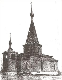 Церковь Тихвинской иконы Божией Матери, Саларьево