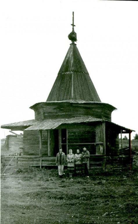 Часовня Воздвижения Креста Господня, Большое Шарково (Матвеевка), урочище