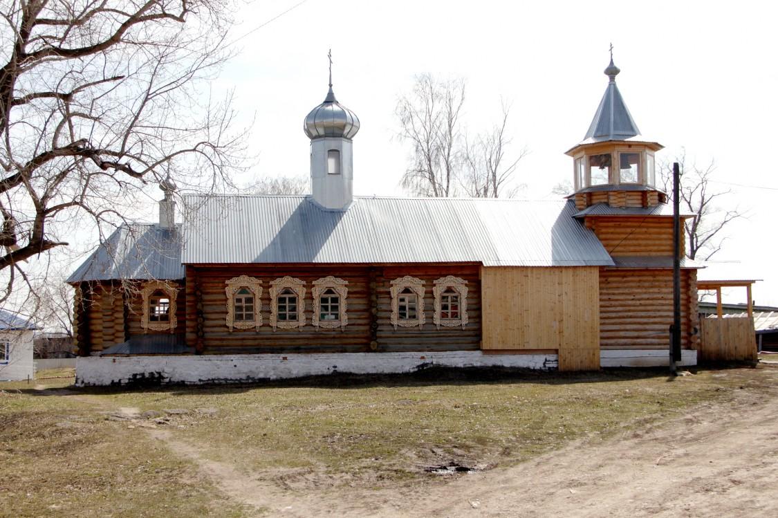 Церковь Зосимы и Савватия Соловецких (новая), Большой Китяк