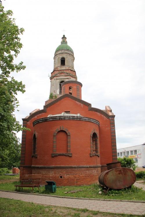 Церковь Троицы Живоначальной (строящаяся), Красный Холм