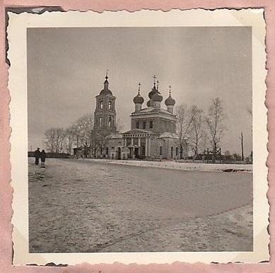 Церковь Воздвижения Креста Господня (старая), Воздвиженское