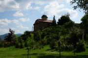 Жича. Жичский Вознесенский монастырь. Церковь Николая Чудотворца