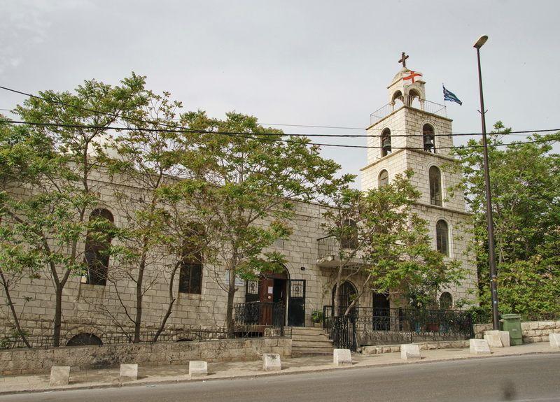 Монастырь Стефана архидиакона. Церковь Стефана архидиакона, Иерусалим - Новый город