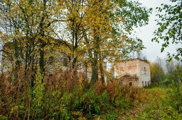 Лопотов-Богородский Григориево-Пельшемский монастырь. Церковь Григория Пельшемского, Лопотово, урочище