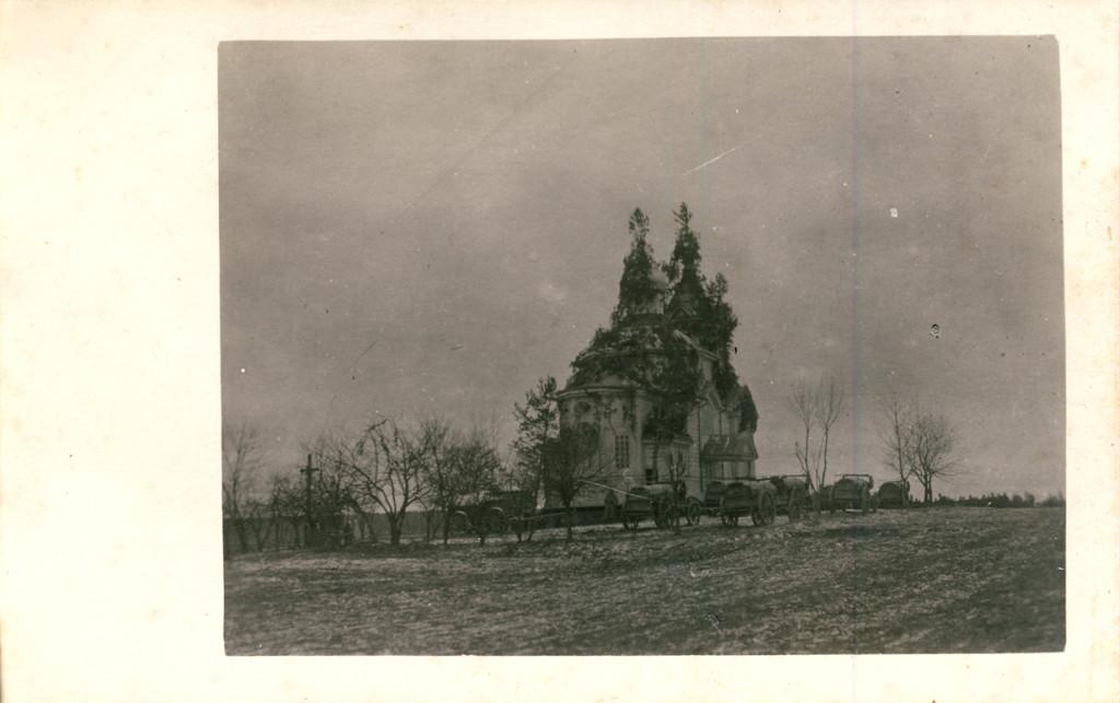 Неизвестная церковь, Озютичи