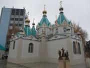 Бийск. Покрова Пресвятой Богородицы, церковь