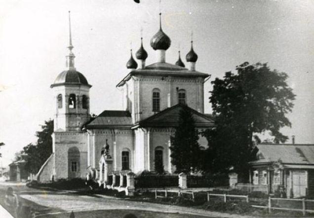 Церковь Вознесения Господня, Юрьевец