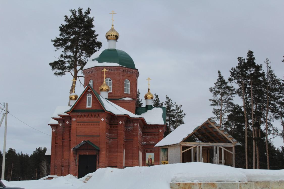 Шиханский Покровский женский монастырь. Собор Покрова Пресвятой Богородицы, Новая Селя