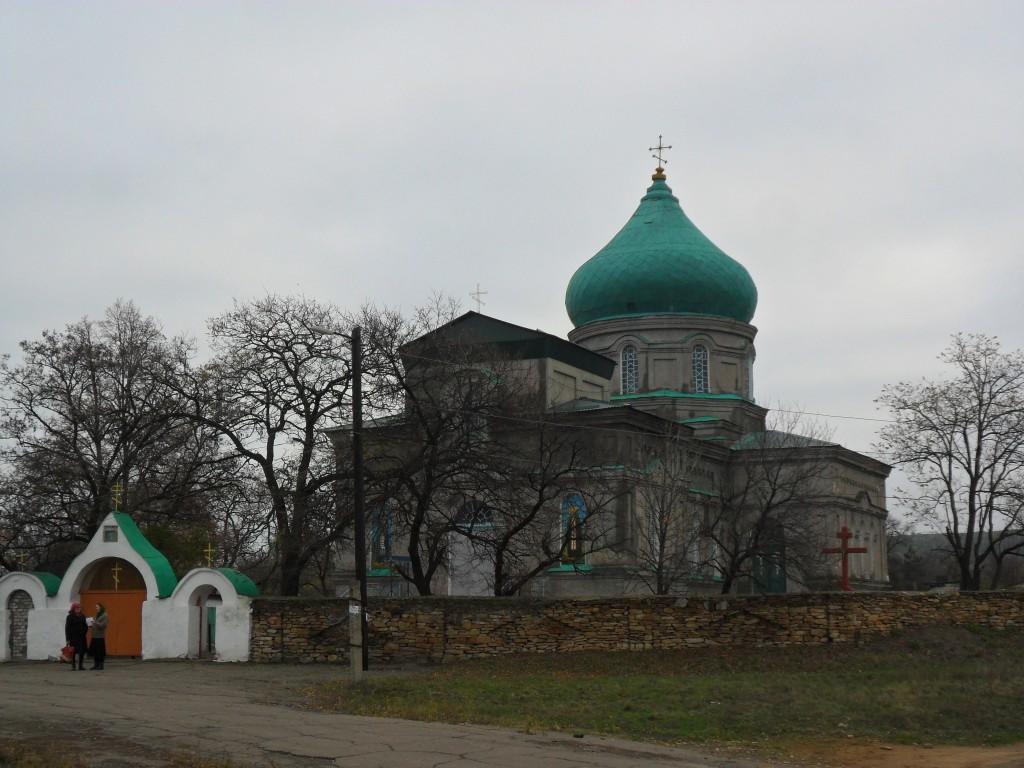 Церковь Успения Пресвятой Богородицы, Хрустальное