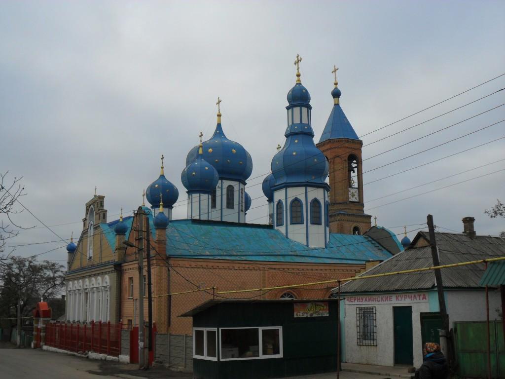 Церковь Рождества Пресвятой Богородицы, Красный Луч