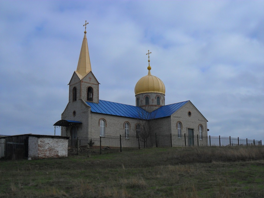 Церковь Спаса Преображения, Есауловка