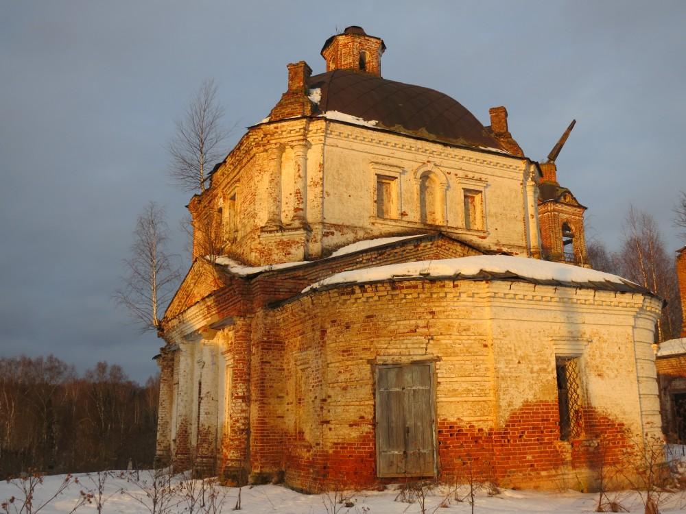 Церковь Николая Чудотворца, Олешь