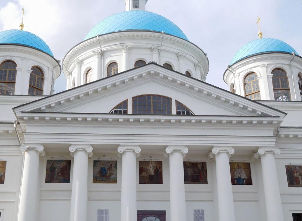 Казанско-Богородицкий монастырь. Собор Казанской иконы Божией Матери (новый), Казань