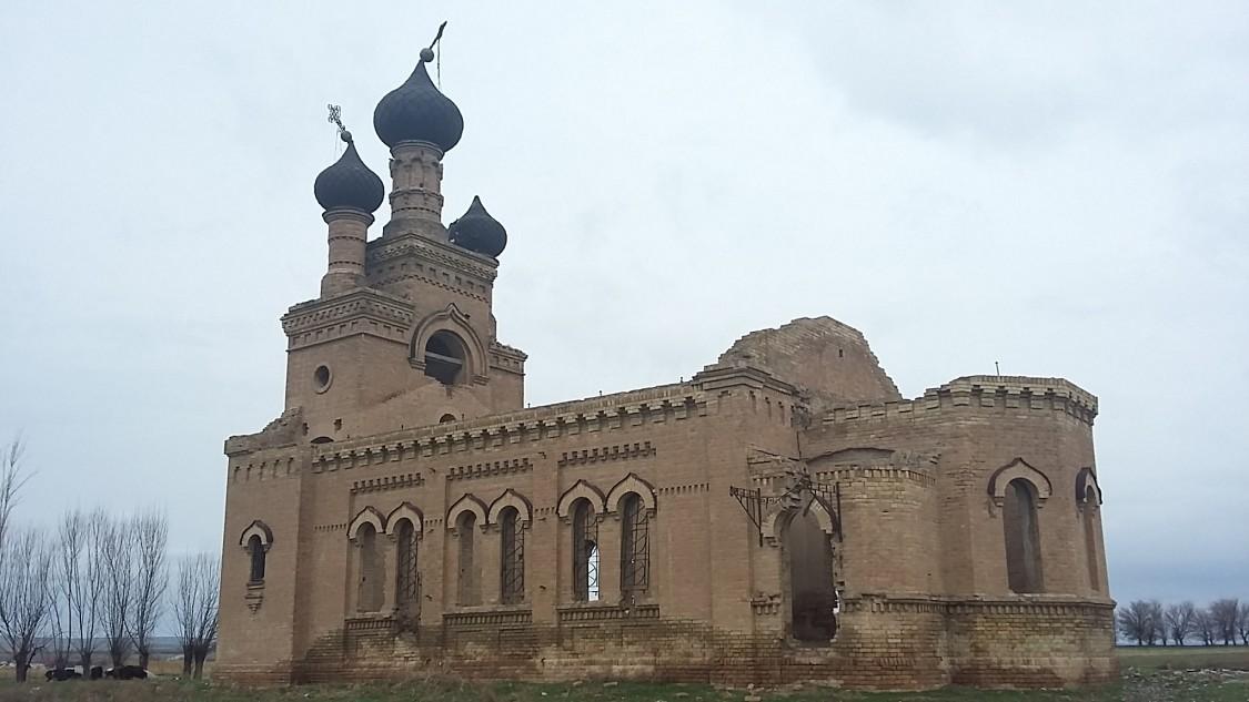 Неизвестная церковь, Дербисек (Тоболино, Константиновка)