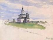 Церковь Иоанна Предтечи - Вавчуга - Холмогорский район - Архангельская область