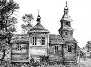 Церковь Параскевы Пятницы - Качановичи - Пинский район - Беларусь, Брестская область