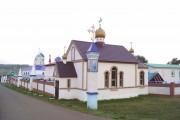 Новомихайловка. Покровский Эннатский мужской монастырь. Церковь Ольги равноапостольной