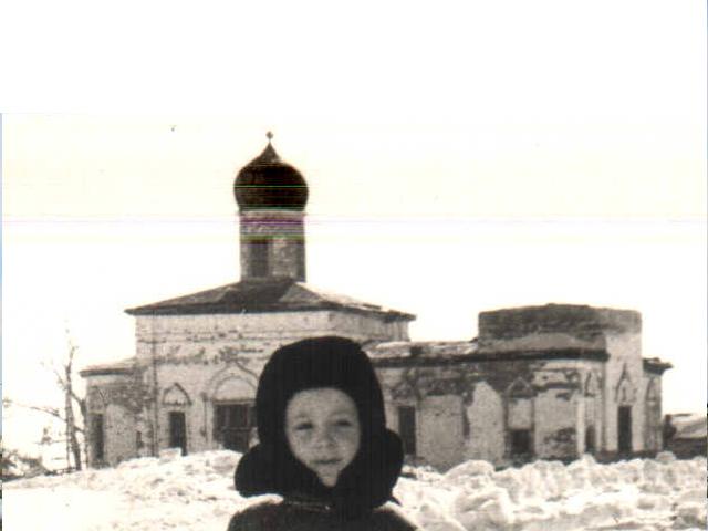 Церковь Троицы Живоначальной, Сухоборское