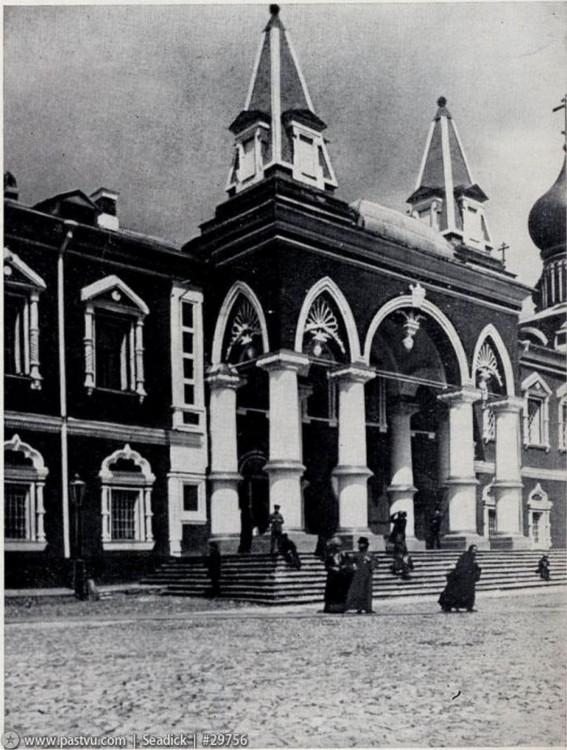 Кремль. Чудов монастырь. Церковь Андрея Первозванного, Москва