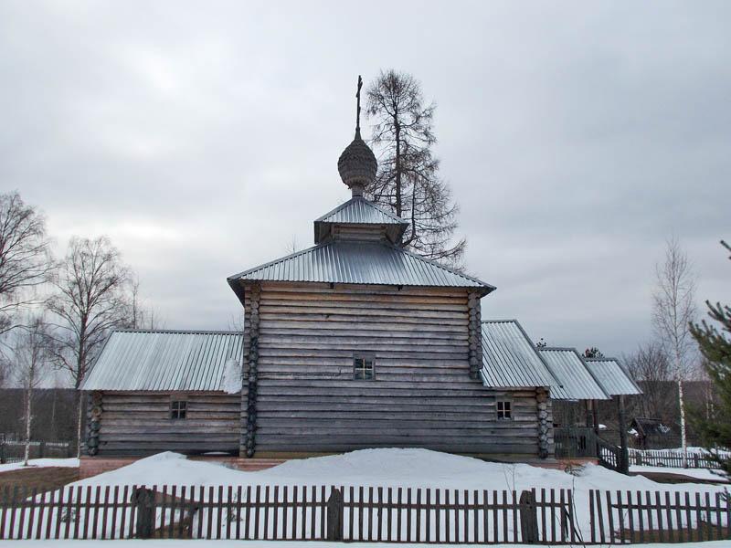 Церковь Димитрия Солунского, Высоково