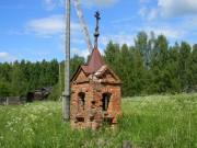 Неизвестная часовня - Тепловская - Лухский район - Ивановская область