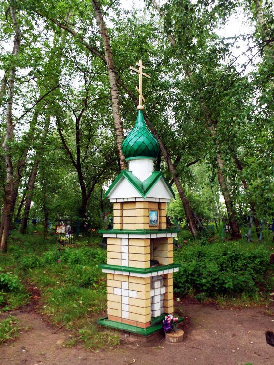 Неизвестный часовенный столб, Красный Яр