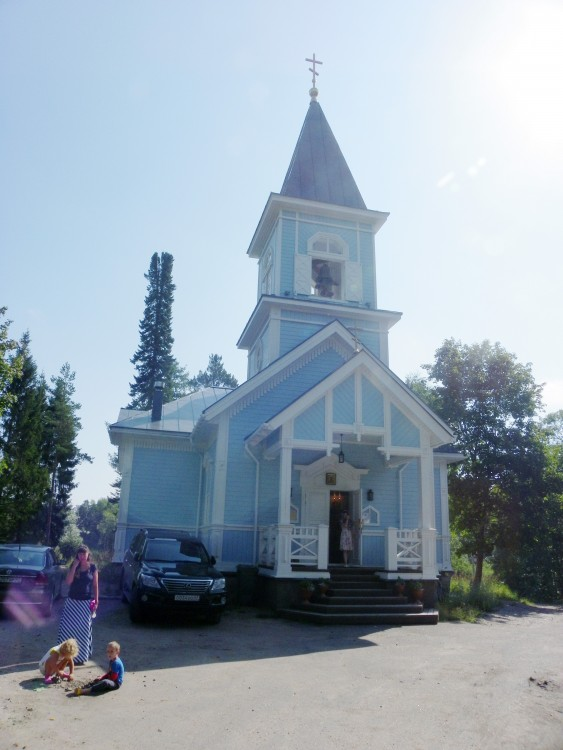 Церковь Вознесения Господня, Гвардейское