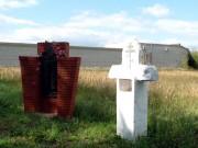 Нижнекамск. Неизвестный часовенный столб