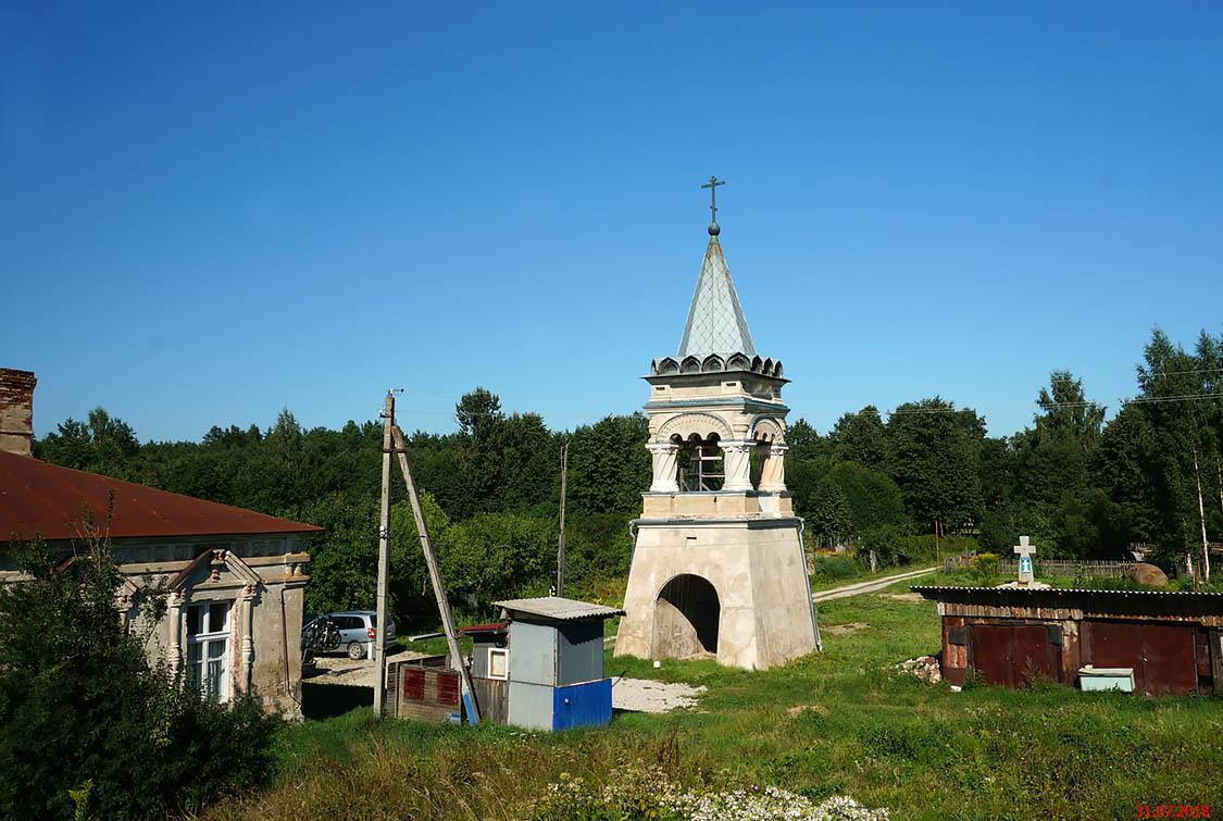 Пантелеимонов Дальний монастырь. Колокольня, Псков