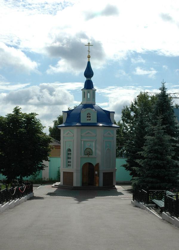 Часовня Серафима Саровского при кафедральном соборе, Курск