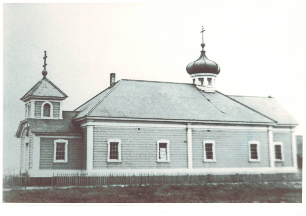 Церковь Николая Чудотворца (старая), Никольское