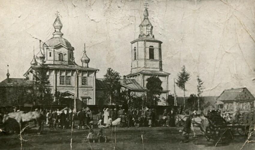 Церковь Михаила Архангела (старая), Янтиково