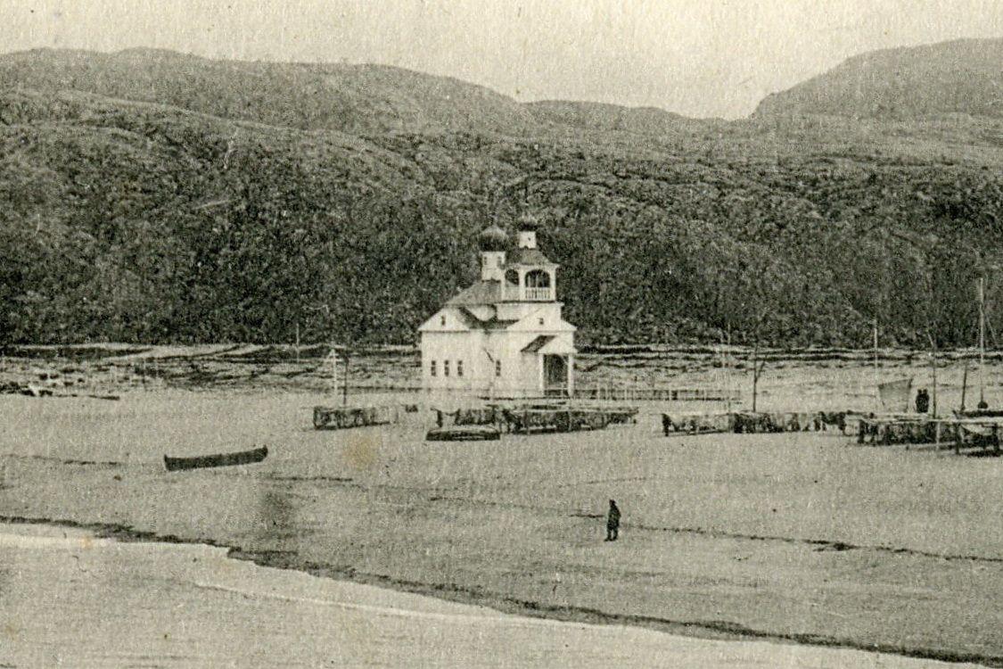 Церковь Грузинской иконы Божией Матери, Териберка