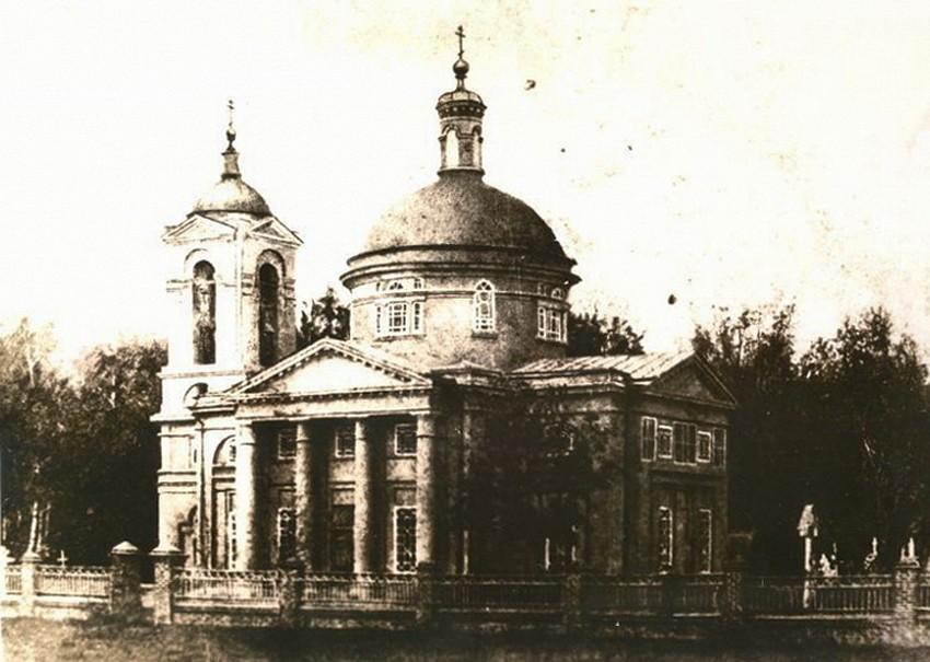 Церковь Всех Святых, Павлово