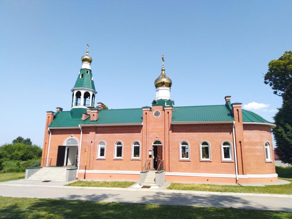 Церковь Вознесения Господня (новая), Затишье