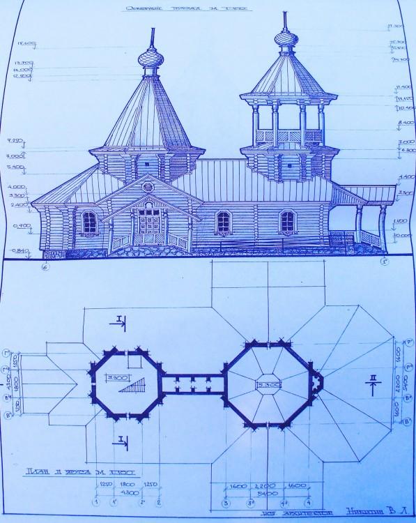 Церковь Рождества Пресвятой Богородицы (?) (строящаяся), Мезень