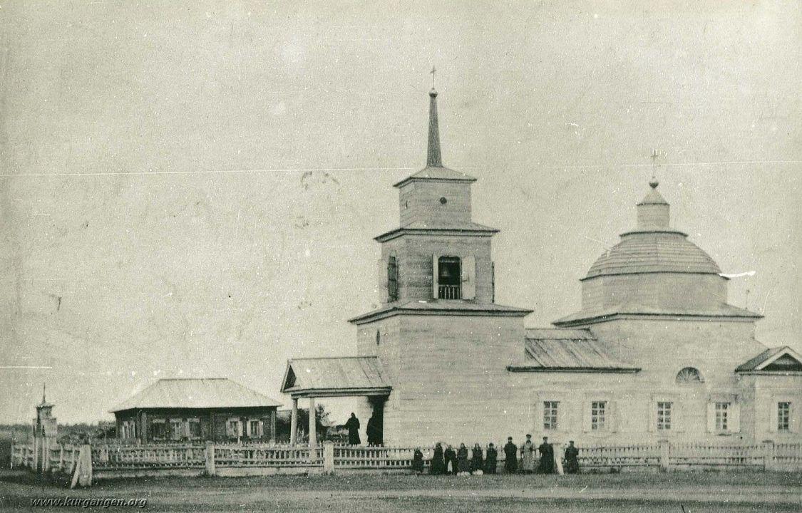 Церковь Казанской иконы Божией Матери (старая), Лопатки
