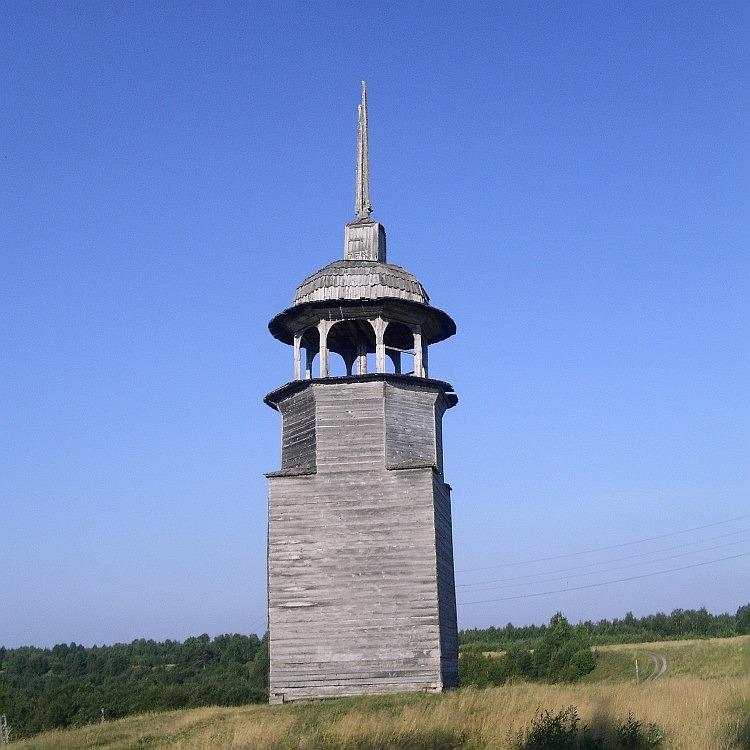 Колокольня Малошуйского погоста, Абрамовская (Ниж.Малошуйка, Вачевская)