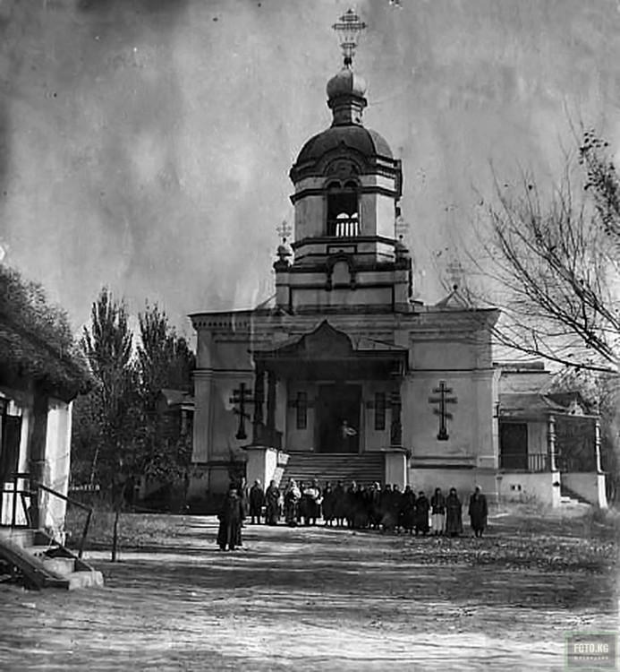 Церковь Георгия Победоносца (старая), Токмак
