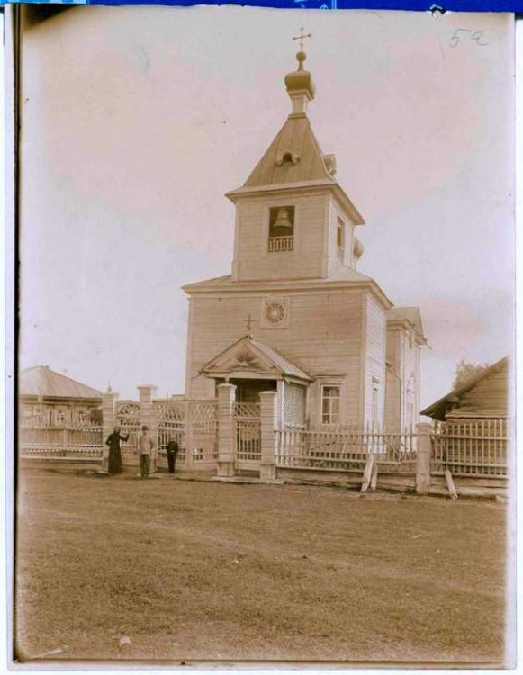 Церковь Благовещения Пресвятой Богородицы, Буренское, урочище