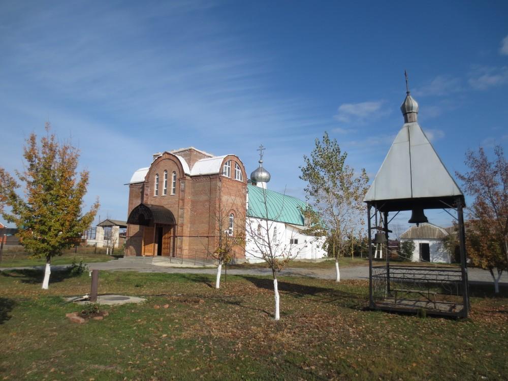 Церковь Николая Чудотворца, Матвеев Курган