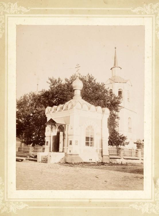 Неизвестная часовня при старой церкви Спаса Преображения, Молодой Туд