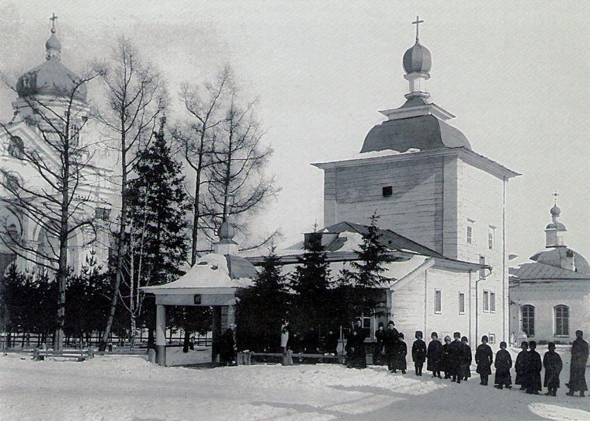 Вознесенский монастырь. Церковь Тихвинской иконы Божией Матери, Иркутск