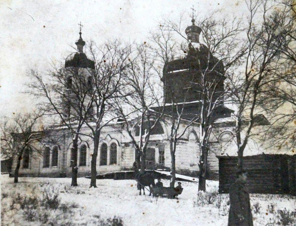 Церковь Покрова Пресвятой Богородицы, Сара