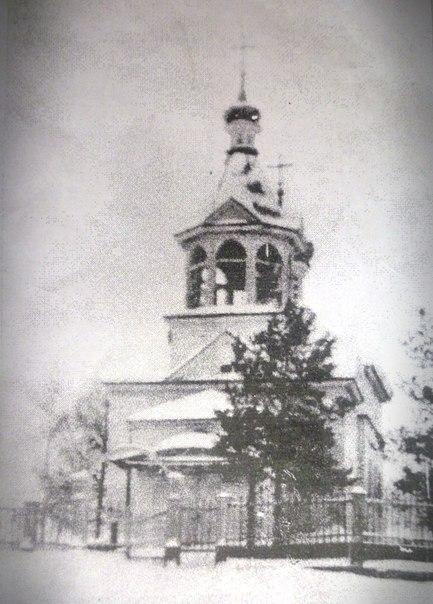 Церковь Ахтырской иконы Божией Матери, Няшабож