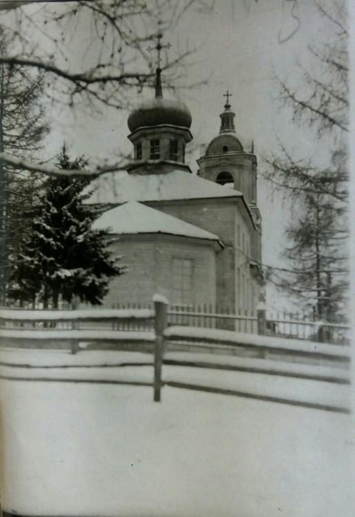 Церковь Воскресения Христова, Краснобор